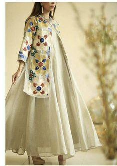 Iranian Women Fashion, Arab Fashion, Muslim Fashion, Modest Fashion, Women's Fashion Dresses, Indian Fashion, Dress Outfits, Mode Abaya, Mode Hijab