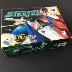 On instagram by 8bitofjai  #retrogaming #microhobbit (o)  StarFox 64  And the last game I was waiting to show StarFox 64! I personally don't have a huge personal investment in the game but like all little siblings I watched my brother play this game a lot. I was lucky to be able to purchase this from a great person who decided to move on from Nintendo collecting. It's complete in box and is still in pretty great condition. Definitely a great 1st boxed Nintendo 64 game in my collection…