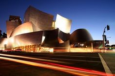 Walt Disney Concert Hall. I saw the Los Angeles Philharmonic here, and I won't forget it. #Gehry #architecture