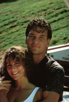 Yeah Patrick Swayze from this and North and South was my first CRUSH RIP Patrick Jennifer Grey and Patrick Swayze - Dirty Dancing Behind-the-scenes 1987