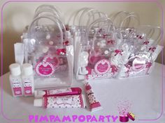 Kit Festa do Pijama Cupcake