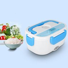 Portable Electric Car Heating Lunch Box Plug Travel Outdoor Heat Food-warmer