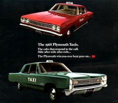 1968 Plymouth Taxis