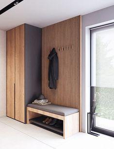 Foyer Design, Hallway Designs, Home Room Design, Home Interior Design, Hallway Ideas, Living Room Designs, Hall Interior, Tv Wall Design, Entrance Design