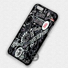 Collage Band On Black Punk  - iPhone 7 6s 5c 4s SE Cases & Covers