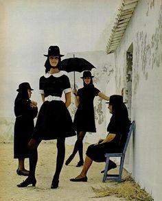 "Algarve, Portugal 1969 - Fashion Designer Jack Bodi editorial for ""Life"" Magazine Photos by Joseph Leombruno"