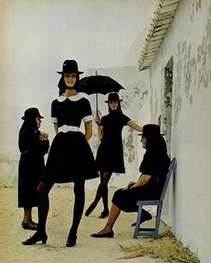 "Algarve, Portugal 1969 - Fashion Designer Jack Bodi editorial for ""Life"" Magazine Photos by Joseph Leombruno"