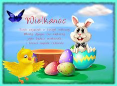 Animacja - Pinger.pl Rubber Duck, Happy Easter, Tweety, Humor, Toys, Funny, Google, Youtube, Scrappy Quilts