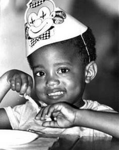 Kayne West. Wow, how did someone who used to be so cute become....what he is today?