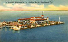 Municipal Recreation Pier, St Petersburg, Fl