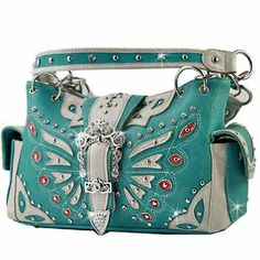 WESTERN RHINESTONE HANDBAG PURSE- TURQUOISE ANYTHINGEVERYTHINGSHOP http://www.amazon.com/dp/B00IB575S6/ref=cm_sw_r_pi_dp_UXyItb0B7HVNJZ0J