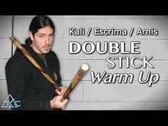 Kali DOUBLE STICK Warm Up - Arnis Double Baston - Escrima Stick Drills - YouTube