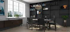 SKETCHUP FREE 3D MODEL | dining room by Than Nguyen