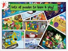 PUZZINGO Puzzles (Pro Edition) – Animated Kid's Puzzles [ages: 2+, iPad, iPhone]. Themes include: Princess and fairies, Holidays, Cars, Animals, Space, Core Concepts and Let's Play (various puzzles). Original Appysmarts score: 86/100