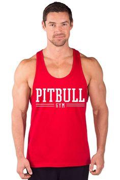 """Pitbull Gym Varsity"" Power Stringer Tank Top"