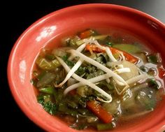 Weight Watchers Asian Zero Points Soup © A Veggie Venture