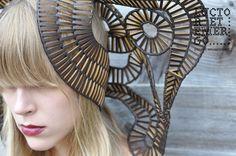 Luctor et Emergo headpieces by Stefanie Nieuwenhuyse, via Behance 03