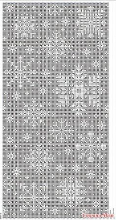 66 ideas for crochet christmas snowflakes pattern fair isles Fair Isle Knitting Patterns, Fair Isle Pattern, Knitting Charts, Knitting Stitches, Knit Patterns, Baby Knitting, Embroidery Patterns, Cross Stitch Charts, Cross Stitch Patterns