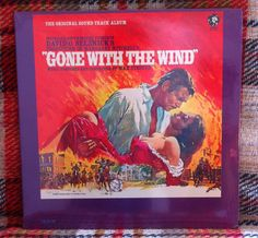 SEALED Gone with the Wind Soundtrack LP Vinyl by chezToulouse