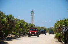 Cozumel Discovery Tour by Jeep from Cancun and Riviera Maya Enjoy a fun tour on a jeep to get to see the best of Cozumel and drive along the south part of the island enjoying the Mexican Caribbean views and scenery. You will also visit Punta Sur Ecological Reserve. Your tour includes transport from Cancun and the ferry to Cozumel.You will be picked up from your hotel in Cancun, head to the port and board a ferry to Cozumel. Once there, you will meet your guide and enjoy a fun ...