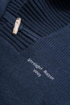 Straight Razor Way knitwear