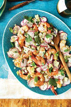 Quick and Delicious Salad Recipes: Georgia Shrimp and Radish Salad