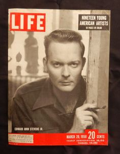 Life Magazine 1950 March 20  Magazine Cover  Beautiful Color Illustration  excellent for framing
