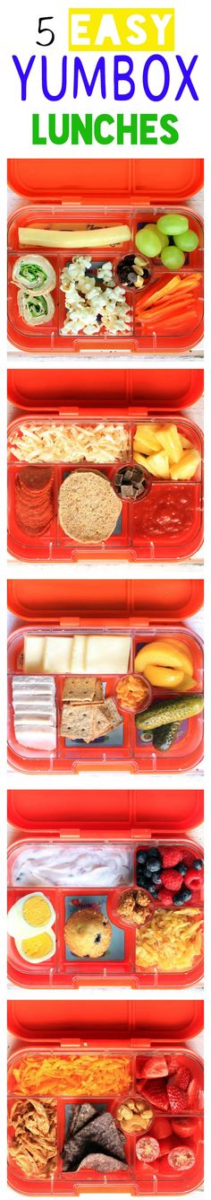 5 Healthy Whole-Food School Lunch Ideas for YumBox. + A GIVEAWAY!!!