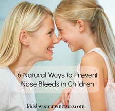6 Natural Ways to Prevent Nosebleeds in Children, especially during allergy season