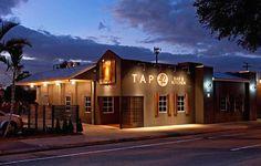 restaurant exterior design building exterior architecture design of tap 42 bar and kitchen fort