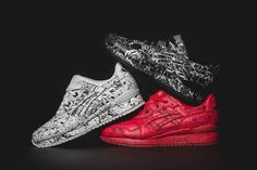ASICS Gel-Lyte III 'Marble Injection' Pack