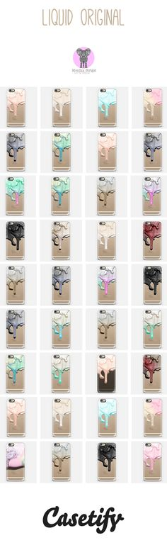 THE LIQUID COLLECTION by Monika Strigel & Casetify Stunning transparent case by Monika Strigel and Casetify. The case comes for all iPhones and Samsungs! Please notice that this is NOT real glitter - it can`t be damaged or spoiled! Use the 10 $ off code for your first order and enjoy: qm2i9w Free Shipping worldwide is included