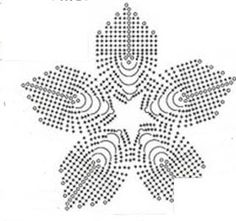 Delicadezas en crochet Gabriela: Franja decorativa