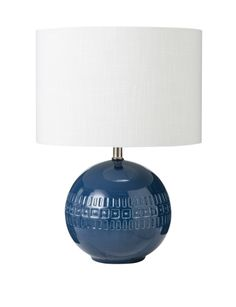 Add a contemporary statement to your living area with the Laya lamp from the Amalfi range