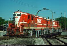 RailPictures.Net Photo: TPW 103 Toledo, Peoria & Western EMD GP7 at East Peoria, Illinois by John Dziobko www.godfatherrails.com