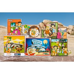 Bring the world-famous and beloved Flintstones family into your crafting with this official collection from Warner Bros. Hanna Barbera, Warner Bros, Paper Crafts, Cards, Colour, Collection, Places, Color, Tissue Paper Crafts