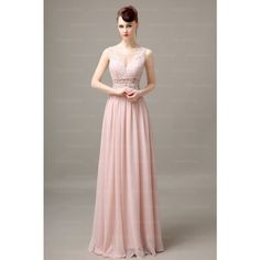 Long Bridesmaid Dress,Lace Bridesmaid Dress,V-Neck Bridesmaid Dress,Sleeveless Bridesmaid Dress,Pink Chiffon Bridesmaid Dress Blush Pink Prom Dresses, Elegant Prom Dresses, Backless Prom Dresses, Beautiful Prom Dresses, Cheap Prom Dresses, Off Shoulder Bridesmaid Dress, Lace Bridesmaid Dresses, Wedding Dress, Discount Prom Dresses