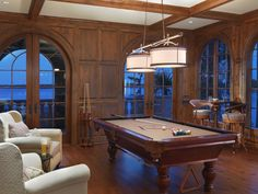 I really want this game room built onto my house. And if you could furnish that view with it, I could deal.
