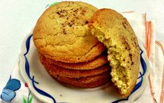Snickerdoodles are similar to sugar cookies, but are rolled in a mixture of white sugar and cinnamon before baking.