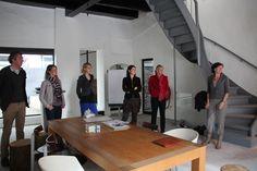 Start van de activiteit bij Droom van Zwolle, een nieuwe inspirerende plek in Zwolle waar professionals elkaar kunnen ontmoeten, kunnen werken en kunnen groeien en ontwikkelen.