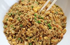 Easy Quinoa Recipes – Quinoa Fried rice