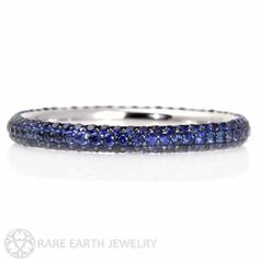 Hey, I found this really awesome Etsy listing at https://www.etsy.com/listing/125936973/14k-blue-sapphire-eternity-band-wedding