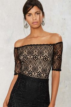 Lace the Music Bodysuit | Shop Clothes at Nasty Gal!
