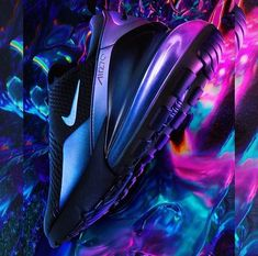 The Paris-based studio has been working with clients big and small – from Nike, Fendi and Moncler to the creative direction of the new magazine In Corpore Sano – and has been trying out new techniques and aesthetics along the way. Mens Running Trainers, Cheap Running Shoes, Lightweight Running Shoes, Futuristic Shoes, Retro Futuristic, Sneaker Posters, Air Max Sneakers, Sneakers Nike, Air Max Day