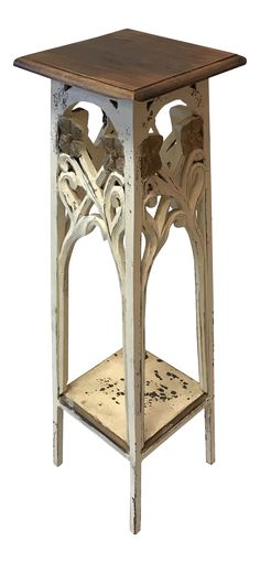 Exceptionnel Antique Victorian Wooden Plant Stand