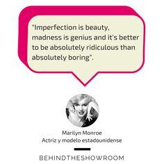 Marilyn Monroe dijo que... #frasemoda #fashionquotes #quotes #LaFrase #actriz #MarilynMonroe
