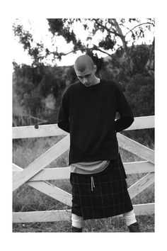 fear of god los angeles 0014 Micky Ayoub, Josh Scroggins & Luk Magill Sport the Latest from Fear of God Los Angeles Man Skirt, Men In Kilts, Sharp Dressed Man, Punk Fashion, Style Fashion, Suit And Tie, Men Dress, Sexy Men, Cool Outfits