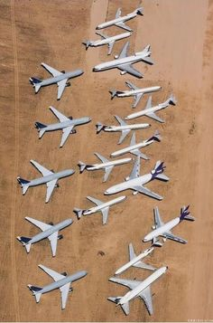 Abandoned: Airplane Graveyards - While the site remains active, SCLA (Southern California Logistics Airport) also has a more sepulchral side: an airplane boneyard of impressive size that, sadly, has continued to grow   Photo: Chris Heaton