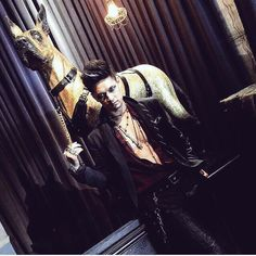 OMG HARRY YOU ARE MY MAGNUS BANE! #Shadowhunters