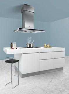 #cooking is now very quiet thanks to our new kitchen hood with specially formed fins. #kitchen #cooking // Besonders leises #kochen mit unserer Dunstabzugshaube dank speziell geformter Lamellen. #siemens #enjoysiemens #kueche #kochen